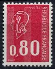 France 1971-6 SG#1905bp, 80c Cerise Marianne Recess Definitive Phosphor #D64780
