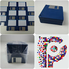 "10 Brand new 3.5"" Floppy Disks Amiga formatted and perfect Atari ST DS DD"