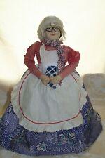 babouchka, ancienne poupée couvre théière, russe