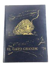New ListingLake Center Middle High School El Gato Grande 1978 Yearbook