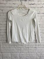 Lululemon Mix & Mesh Long Sleeve White Size 2/4