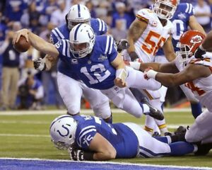 ANDREW LUCK 8X10 PHOTO INDIANAPOLIS COLTS FOOTBALL PICTURE NFL TD