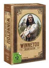 Deluxe Edition WINNETOU & OLD SHATTERHAND Collection KARL MAY 10 DVD Box NEU
