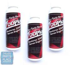 ZDD Plus Oil Additive - Zinc Dialkyl Dithiophosphate - 4 oz Bottles - 3 Pack