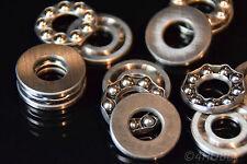 5 Kugellager 10x24x9mm Axiallager Miniatur Mini-Lager Senkrecht Drucklager Axial