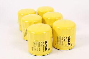 6 Pack Genuine Kohler 52-050-02-S Pro Performance Oil Filter 52 050 02-s OEM