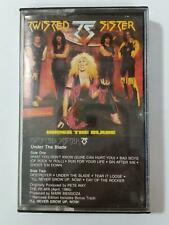 TWISTED SISTER Under The Blade 7812564Y Cassette Tape