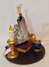 """Disney Parks Peter Pan's Tinker Bell on Candle Map 15"""" Medium Big Fig Figurine"""