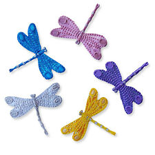 Shiny Dragonfly Iron Sew on  Embroidered Appliques Patches Craft Motif Adhesive