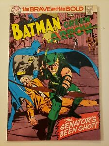 Brave And The Bold #85. DC. Sept 1969. FN 6.0 or HIGHER! Batman & Green Arrow
