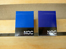 NOC V1 Blue & Purple Playing Cards