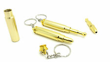 Metal Bullet Key Chain Pocket Size Novelty Smoking Pipe OFFER
