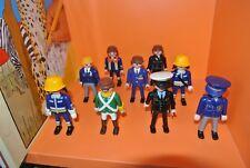 PLAYMOBIL polizia, i pompieri etc Figure Bundle