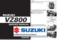 Suzuki VZ800 Marauder Taller Manual del taller de servicio de fábrica todos los modelos de 1997-2004