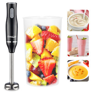 Electric Hand Blender Egg Beater Stick Food Mixer Grinder Fruit Whisk 400W