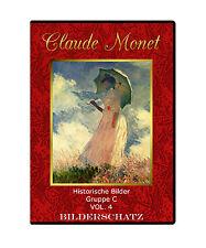 Bilderschatz Claude Monet  - seine Gemälde auf DVD für Web und Print