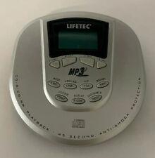 Lifetec Tragbarer CD-Player Walkman Diskman  Portable CD Player MP3 45 Second