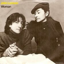JOHN LENNON Woman Vinyl Record 7 Inch Geffen K 79195 1980 EX
