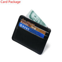 Pattern Travel Leather Money Pocket Wallet Case Card Package Id Card Holder
