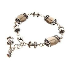"Brighton Crystal Bead Link Bracelet .5x7-8"""