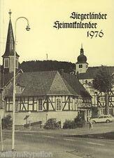 SIEGERLÄNDER HEIMATKALENDER 1976. Hg.: Siegerländer Heimatverein. 51. Ausgabe