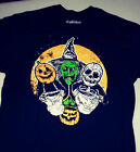 2XL Horror Shirt - 3 Halloween Trick or Treaters HORROR movie III witch masks