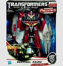 Transformers Leader Class Sentinel Prime Dark of the Moon Electronic 2010 New