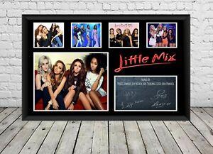 Little Mix Poster Signed Photo Print Autographed  Memorabilia