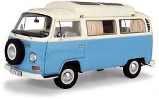 Schuco 00435 - 1/18 VW T2a Campingbus, neptunblau-weiß - Neu