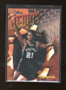 1997 Topps Finest w/ Coating Tim Duncan ROOKIE RC