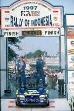 Kenneth Eriksson Subaru Impreza WRC 97 Indonesian Rally 1997 Photograph 2