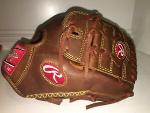"NEW Rawlings PRO205-9TIFS RHT Heart of the Hide Baseball Glove 11.75"" FING SHIFT"