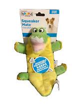 Outward Hound Squeaker Matz Gator Dog Toy