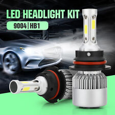 2x 200W 9004 20000LM HB1 LED Headlight Light White Hi/Low Beam 6500K Bulbs F1