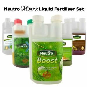 Neutro ULTIMATE Aquarium Plant Liquid Fertiliser Set - Small Size