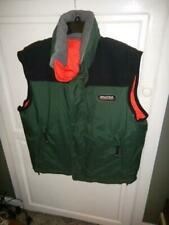 Nautica Elevation 8000 Competition Green Reversible Orange Duck Down Vest Large