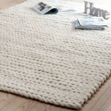 RugsBeyond - Chunky Wool Hand Knitted Indoor Area Rug