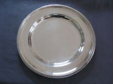 CHRISTOFLE MALMAISON GRAND PLAT DIAMETRE 30cm 1007 G. metal argente