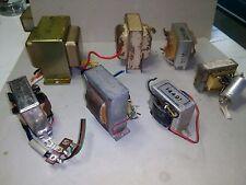 lotto trasformatori di radio e giradischi d'epoca vari voltaggi