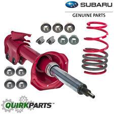 2005-2007 Subaru Impreza WRX STi Rear Left Inverted Adjustable Struts & Springs
