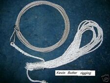 Bosun dinghy 2.5mm wire jib halyard inc 4mm retrieval line