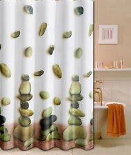 Green Stone Design Bathroom Fabric Shower Curtain 180cm x180cm Ps858