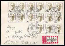 Berlin 1997, spécial-R-ticket Info-Box sur ortsbrief avec équivaut à. SST. - x8000 -