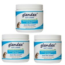 Glandex® Soft Chews Anal Gland Fiber & Probiotic Supplement for Dogs, 180 chews