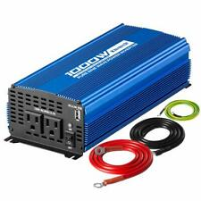 Pure Sine Wave Power Inverter 1000W(Peak2000W)  DC12V to AC 110V