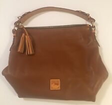 Dooney And Bourke Natural Smooth Leather Hobo