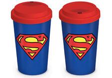 DC COMICS (SUPERMAN) TRAVEL MUG *OFFICIAL PRODUCT*