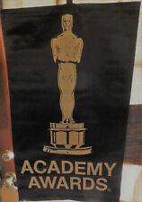Academy Awards Vinyl Banner/Wall Hanging Featuring Gold Statue