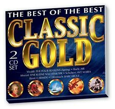 2 CD Set Classic Gold - Bizet / Vivaldi / Mozart / Beethoven / Bach / Strauss