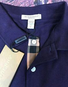 Burberry Brit Men's Short-Sleeve Pique Polo Shirt Check Placket